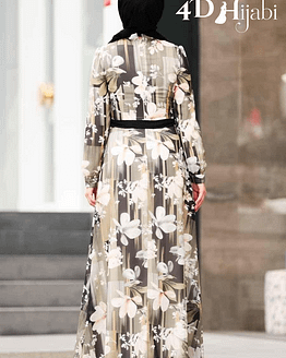 Turkish Flowery Dress