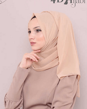 Turkish Chiffon Biscuit Hijab