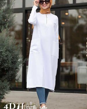 Long Turkish White Shirt